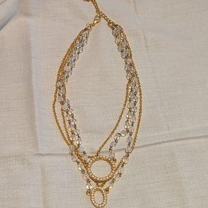 "Jewelry - 14-16"" gold costume jewelry"